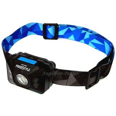Kopflampe Freestyle Sense Optics LED mit Bewegungs-Sensor u. UV Licht inkl Batt.