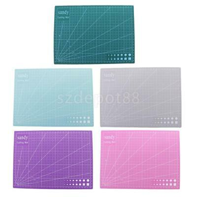 Double Sided A4 Cutting Mat Self-Healing Crafts Quilting Printed Grid Line Board