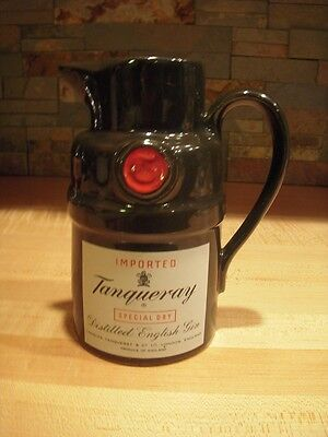 Tanqueray Gin Pub Jug Imported Special Dry Distilled English Gin Pitcher