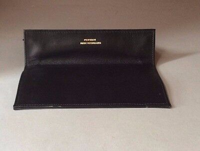 Persian Leather Tobacco Pouch Vintage - Black - New, Old Stock