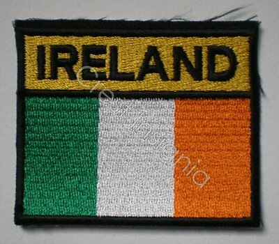 Irish Defence Forces, Flag [Tri-colour] arm badge patch.