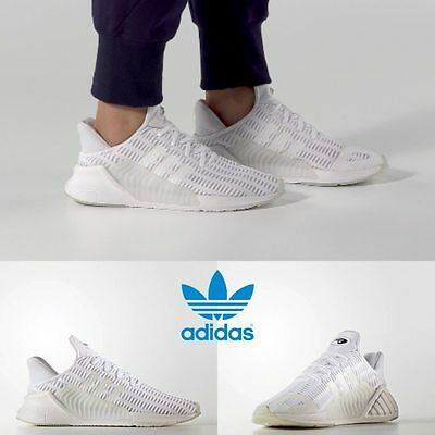 brand new 81d5e bb41c Adidas Unisex Original ClimaCool 0217 Running Triple White BZ0248 Size 4-11