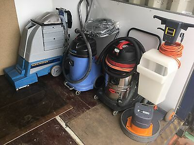 Industrial Cleaning JOB LOT Hoovers Floor Polisher Carpet Cleaners Supernova