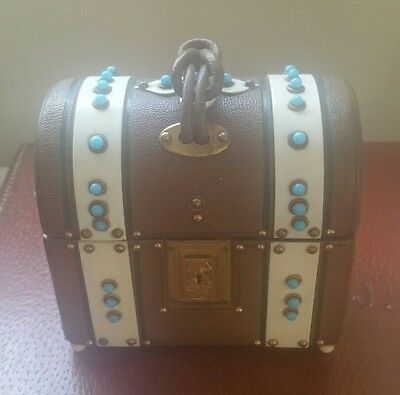 Antique french perfume bottle chest case