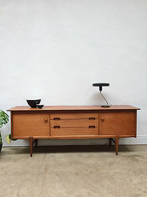 A Beautiful 1960s Younger Teak Sideboard. Danish Retro Mid century. DELIVERY
