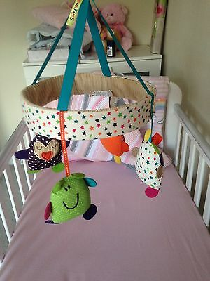 Mamas and Papas Timbuktales Musical Cot Mobile
