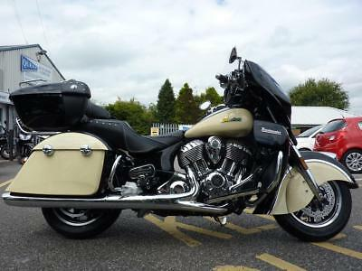Indian Roadmaster Two-Tone MY17 Brand NW BLK/IVORY for 2018 REG