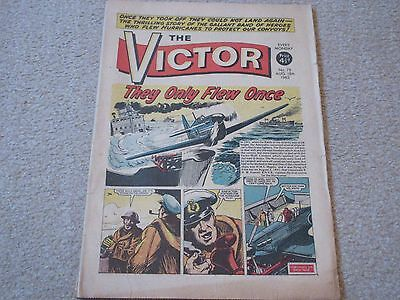 THE VICTOR COMIC No 78- Aug 18th 1962- 'They Only Few Once' Good/Fair Condition
