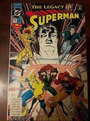 Superman: The Legacy of Superman #1 (Mar 1993, DC)