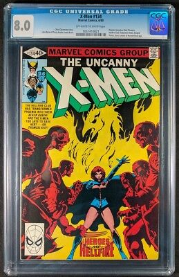 X-Men #134 CGC 8.0! Off-White to White Pages! (Marvel Comics 1980)