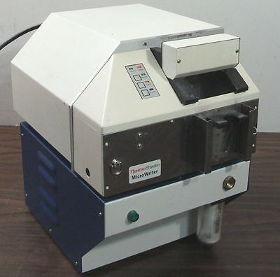 Thermo Shandon Electron Lamb Microwriter E22.01Mws Slide Labeler Marking System
