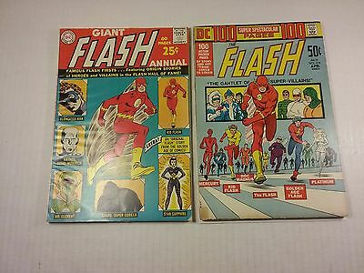 Flash annual #1  Origin Gorilla Grodd, 80 Page Giant, G/VG, & Flash #214 G/VG