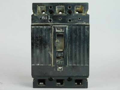 General Electric 3-Pole, 20 Amp, Circuit Breaker TEF134020
