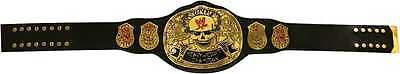 WWE Stone Cold SMOKING SKULL Championship Belt Replica, Real Leather