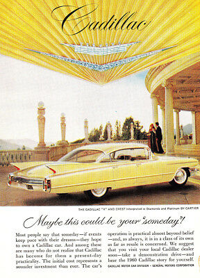 1960 Cadillac: Maybe This Could Be Your Someday (24273) Print Ad