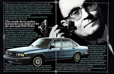 1980 Audi: Simple Device Makes Horsepower Out of Thin Air (23863) Print Ad