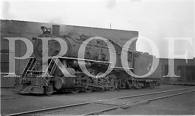 ORIG 3 3/4 x 6 3/4 B/W NEGATIVE ERIE Erie 2-8-0 #2102 Port Jervis NY in 1937