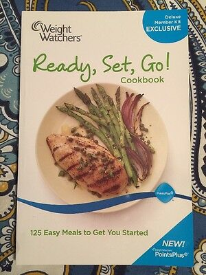 Weight Watchers Ready, Set, Go Cookbook 125 Easy Meals Paperback NEW