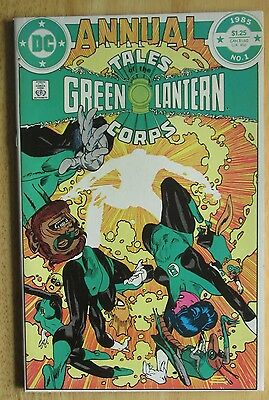 "DC COMICS ""TALES OF GREEN LANTERN CORPS"" ANNUAL #1 1985, show Great Condition"