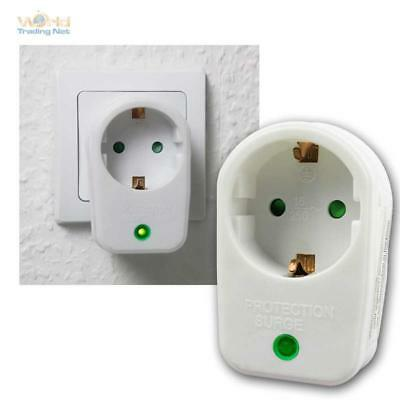 Surge Protector, Adapter for Socket 230V, Protection Prior Overload