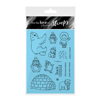 Hunkydory Crafts Christmas Cuties For the Love of Stamps Stamp Set FTLS235