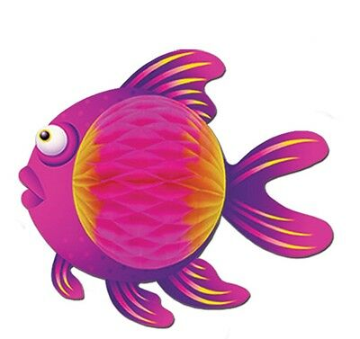 Pink Color Tropical Fish Under the Sea Hanging Decoration Birthday Party Event