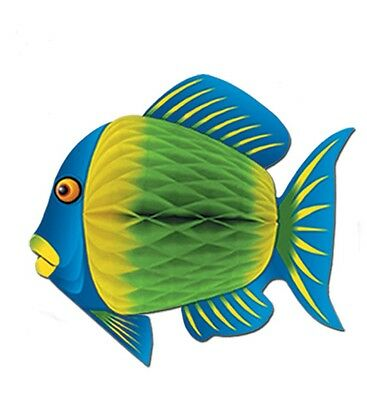 Blue Color Tropical Fish Under the Sea Hanging Decoration Birthday Party Event