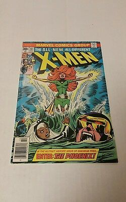 The X-Men #101 (Oct 1976, Marvel), FN--, (5.25),  First appearance Phoenix