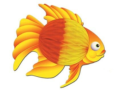 Orange Color Tropical Fish Under the Sea Hanging Decoration Birthday Party Event
