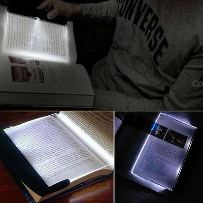 Magic Night Vision Light LED Reading Book Flat Plate Portable New Arrival