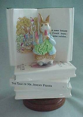 Peter Rabbit Rotating San Francisco Music Box,schmid-Here Comes Peter Cottontail