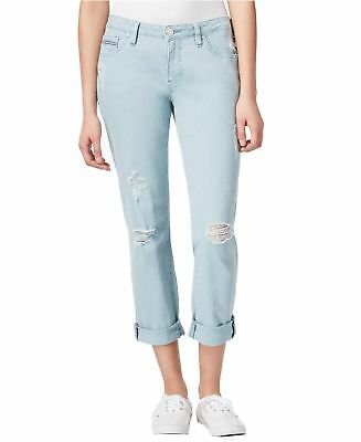 Jag Jeans NEW Blue Womens Size 8 Distressed Relaxed Fit Boyfriend Jeans $79 245