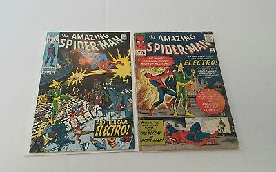 The Amazing Spider-Man #9 (1964), FR/G, Spider Man 82, FN+, 1st Electro, lot