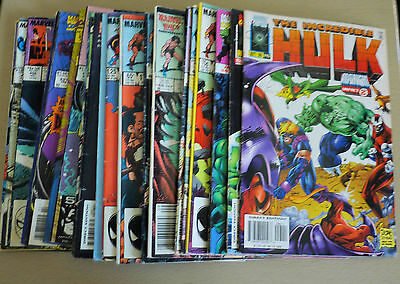 Collection of 26 MARVEL COMICS in vg condition  Including Hulk,Conan,spider-man