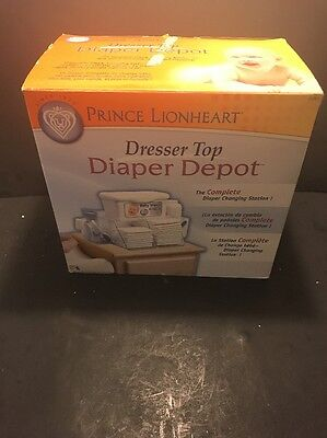 Baby Changing Station Diaper Depot Dresser Top Infant Organizer Supplies Lotion