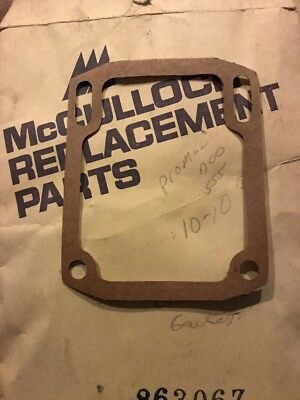 McCulloch chainsaw Oil Tank Gasket  vintage NOS NEW # 86306Z Pro Mac 700 555