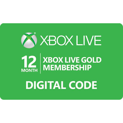 XBOX live gold 12 months 1 year membership - Oz seller