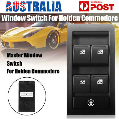 New Power Master Window Switch Fit Holden Commodore VY VZ 2002-2007 BLACK 13pins
