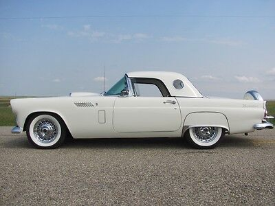 1956 Ford Thunderbird Both Tops 312 ci. T-Bird Special V8 Classic 56 TBird Convertible Roadster Both Tops 312 ci. V8 Ford Auto Continental