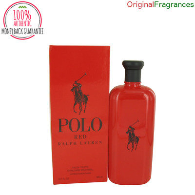 Polo Red Cologne 4.2 / 10 oz  By RALPH LAUREN FOR MEN 125ML 300 ML EDT SPRAY NEW