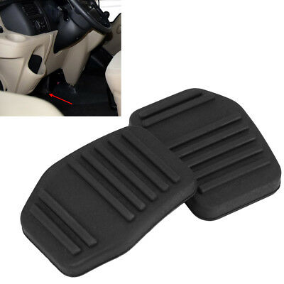 2x Clutch Brake Foot Pedal Rubber Pad Cover Car For Ford Transit MK6 MK7 00-14