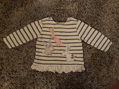 Baby girls Next long sleeved top age 6-9 months
