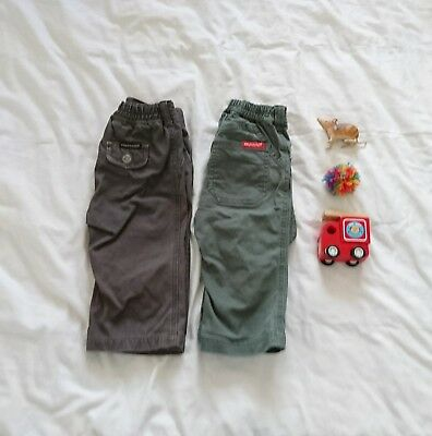 Fred Bare boys pants size 1 (two pairs)