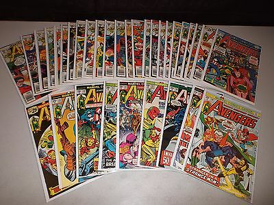 Avengers #138-170 (Complete Bronze Age run of 33) VG FN  144 151 152 160 161 162