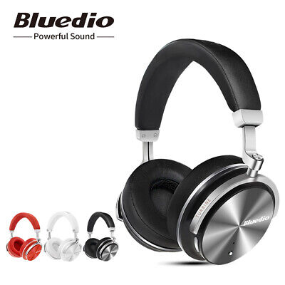 BLUEDIO Turbine T4S Bluetooth 4.2 Headhones Noise cancelling Wireless Headsets