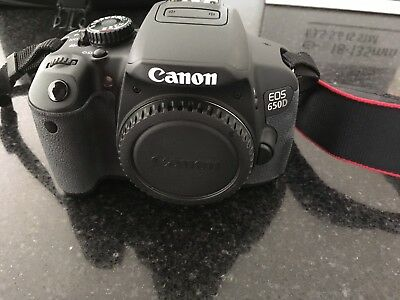 Canon EOS650D Camera / 18-135mm Lens