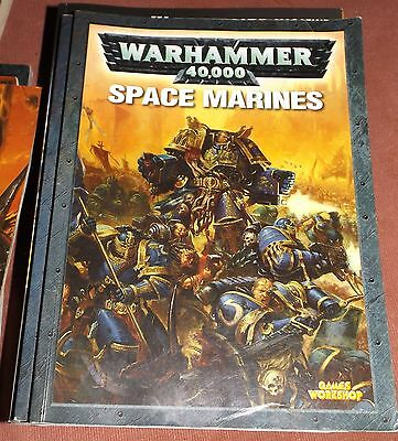Warhammer 40K - Space Marine Codex Book c2004