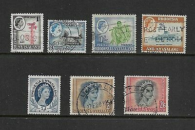 RHODESIA & NYASALAND - mixed collection, QEII