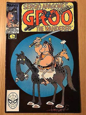 Marvel Comics: Sergio Aragonés Groo The Wanderer #62 – VF Feb 1990