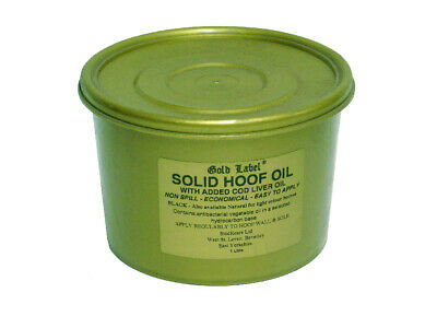 Gold Label Solid Hoof Oil - Hoof Care